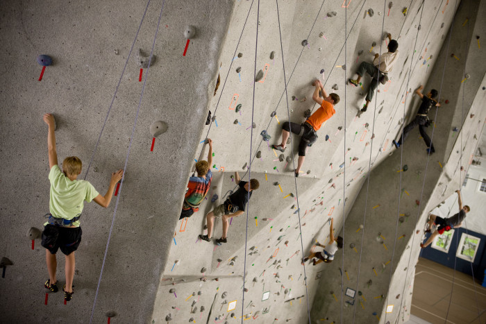 indoor climbing gym, climbing gym, rock climbing indoors