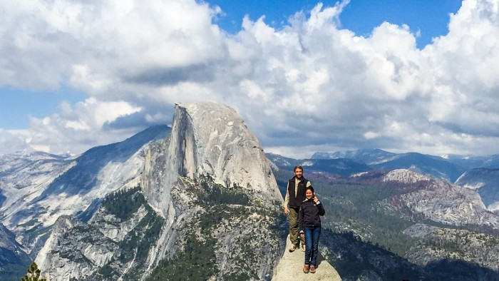 yosemite, half dome, california, carlos and olga, yosemite national park