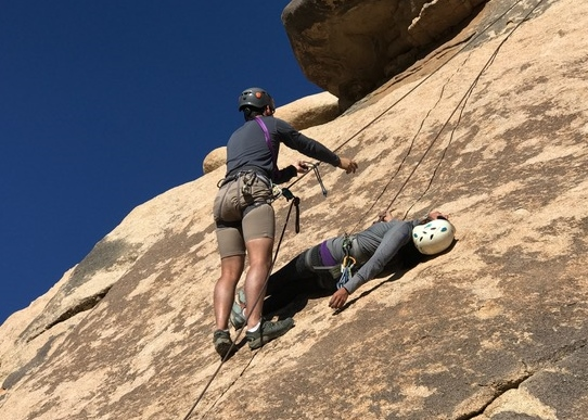 basic, climbing, self, rescue, class, course, los angeles, joshua tree, california, outdoor