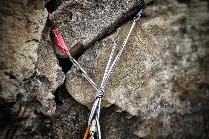 rock climbing anchors class
