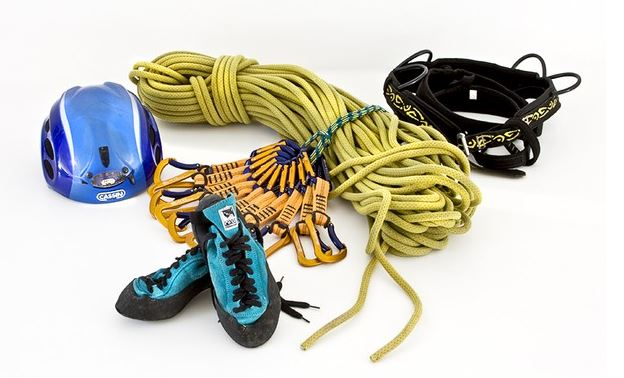 rock climbing equipment, rock climbing gear