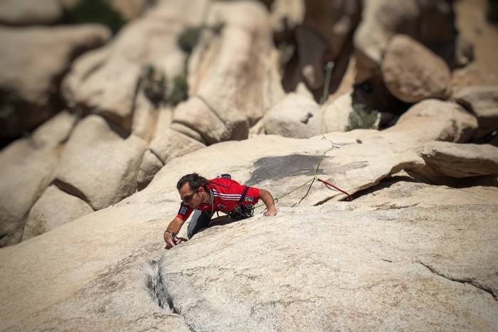 trad climbing, traditional climbing, trad lead, california, joshua tree, lead class, lead climbing, learn to lead