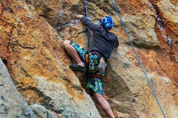life, skills, rock, climbing, california