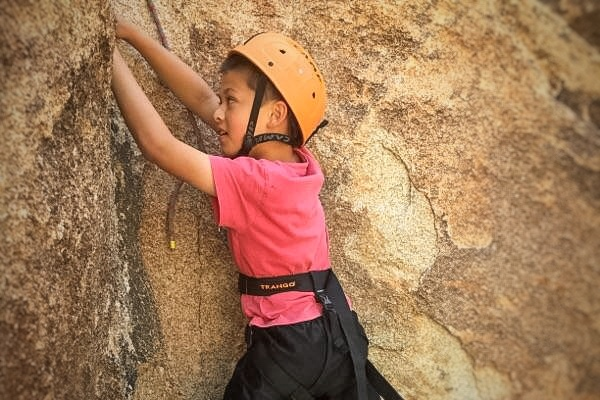 rock, climbing, kids, california, los angeles, joshua tree, rock climbing, family, children, climbing lessons, kids climb