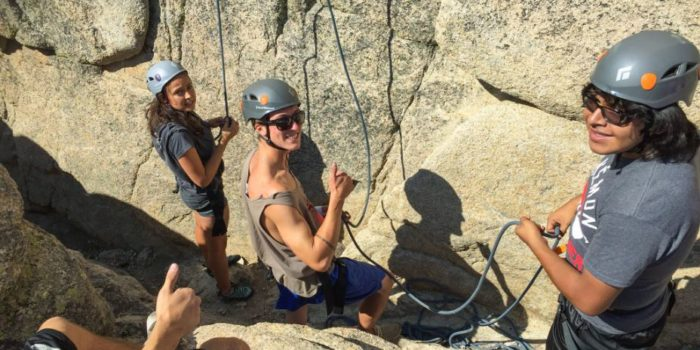 climbing, rock climbing, climbing class, rock class, california, joshua tree, los angeles, climbing lessons