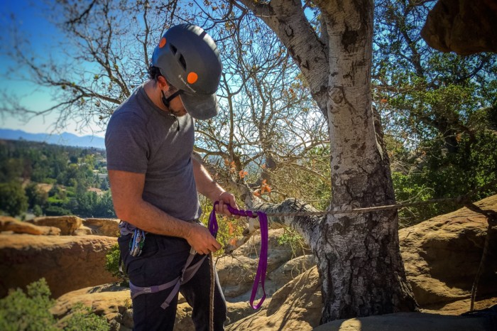 rock climbing anchors, climbing anchors, climber, climbing class, climbing anchors class, los angeles, california