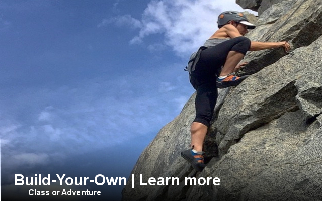 custom, courses, rock, climbing, rappelling, rappel, how to, learn to, skills, customize, california