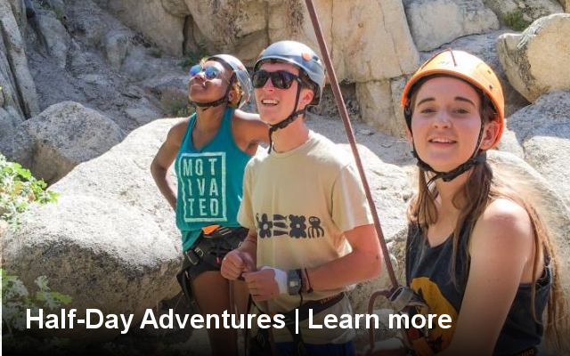 outdoor, adventure, rock, climbing, tour, trip, family, groups, activity, joshua tree, los angeles, california