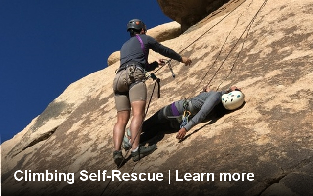 basic, self, rescue, course, class, climbing, outdoor, safety, assisted, partner, california, los angeles, joshua tree