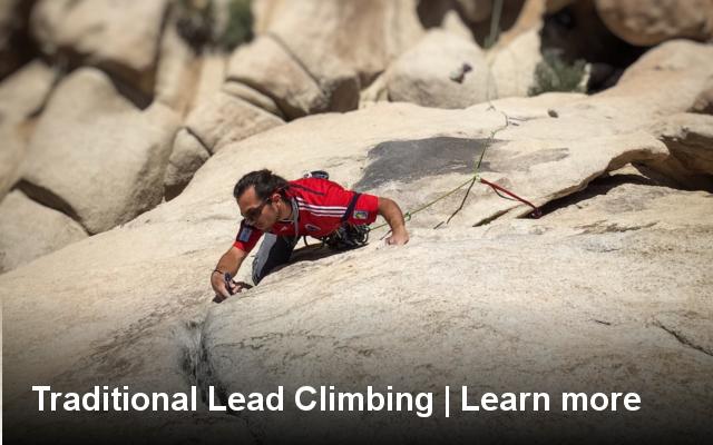 traditional, lead, climbing, class, course, lesson, learn to, how to, trad, climb, california, joshua tree