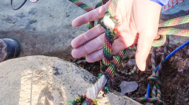 climbing, rope, break, core, inside of a climbing rope