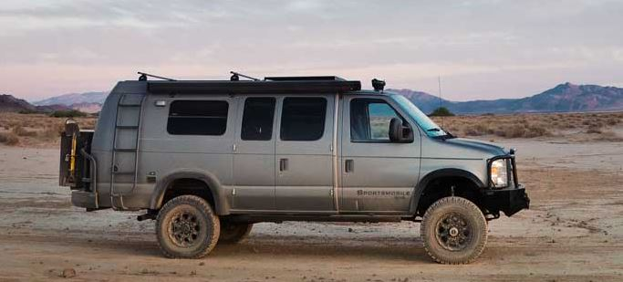 sportsmobile, 4x4, travel, vehicle, van, rv, small rv, offroad, rugged, outdoors
