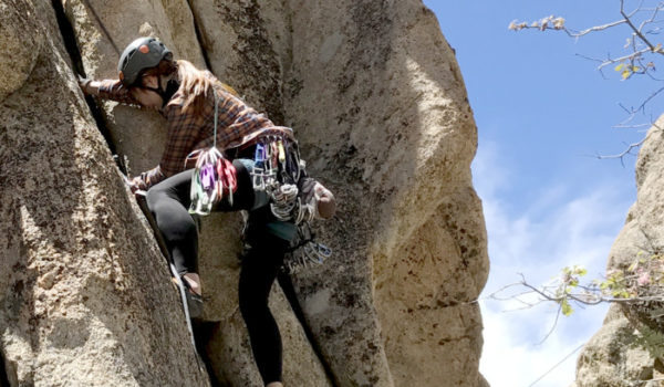 trad climbing, traditional climbing, trad lead, california, joshua tree, lead class, lead climbing, learn to lead