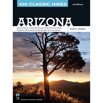 classic, hikes, arizona, moutaineers, 100, books