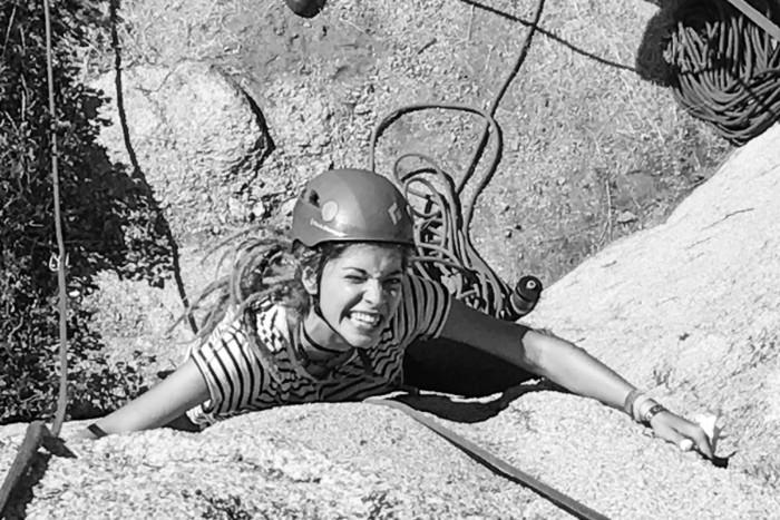 climbing, outdoors, rock climber