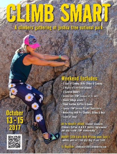 climb smart 2017, climb smart, joshua tree