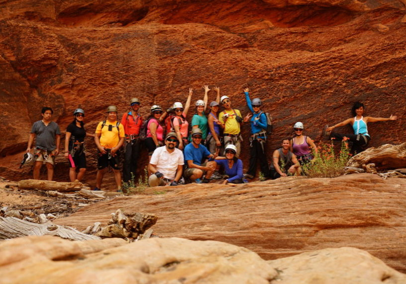 Group And Team Building Activities Climb Rappel Adventure